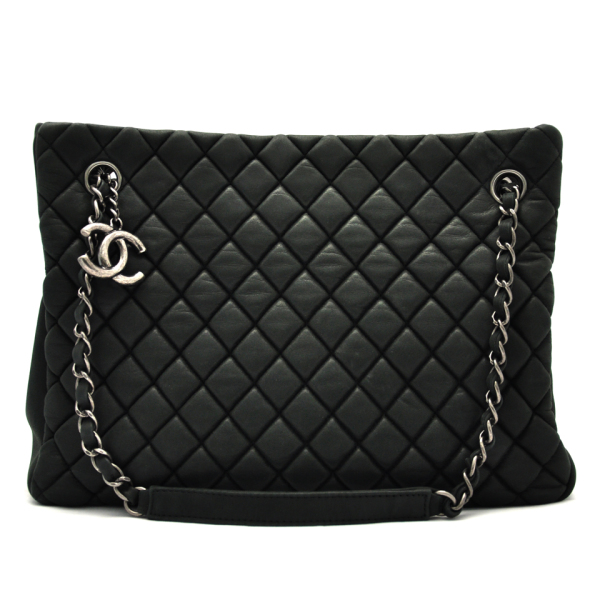 5a8bc5bd188 Chanel Quilted Leather Tote Bag DreamLux Studio