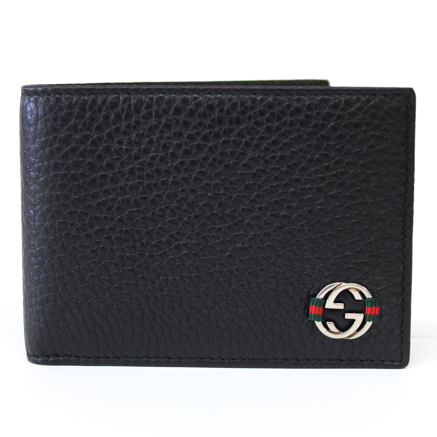 Gucci Black Leather Small Bi Fold Wallet Dreamlux Studio
