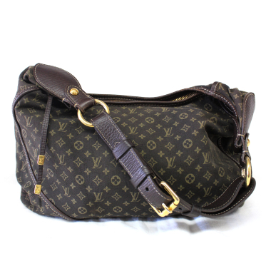 Louis Vuitton Ebene Mini Lin Monogram MM Bag