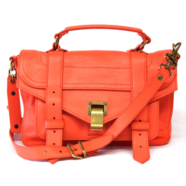 Proenza Schouler PS1 Medium Deep Coral
