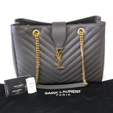 fa01989985e Saint Laurent YSL Monogramme Matelasse Shopper Bag - DreamLux Studio