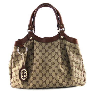 gucci gg signature sukey canvas handbag