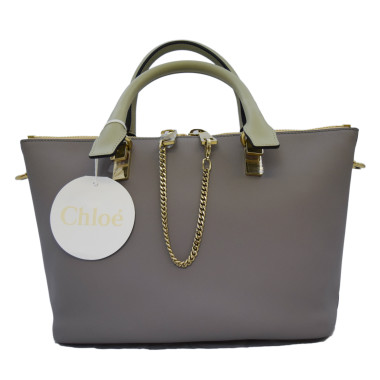 chloe bayless small bicolor tote bag