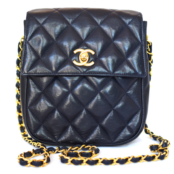 293a1839afd Chanel Vintage Quilted Lambskin Flap Bag - DreamLux Studio