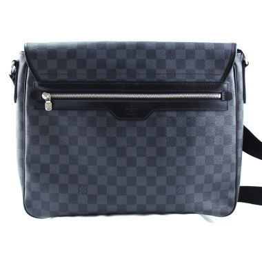 Louis Vuitton Daniel MM Damier Graphite Canvas Messenger Bag