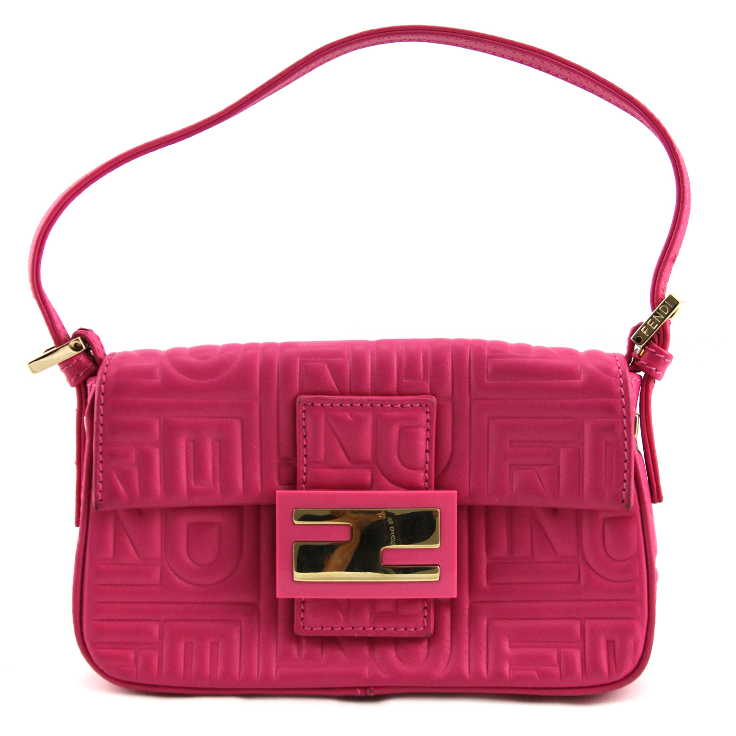 Fendi Pink Mini Baguette Bag Dreamlux Studio