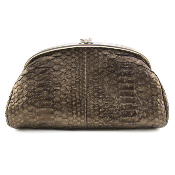 71ff2aab02c Chanel Python Timeless Clutch Bag - DreamLux Studio